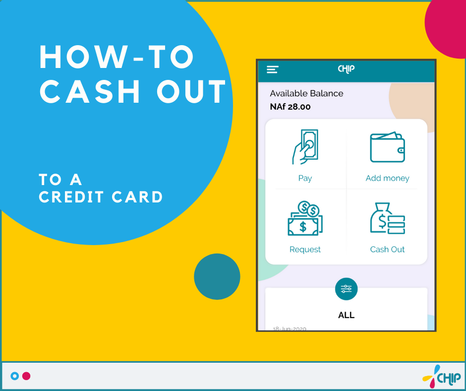 How to cash out to a Credit Card